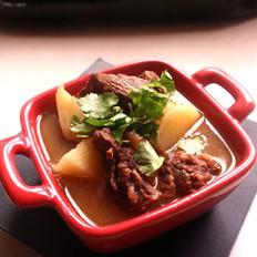清炖土豆牛肉煲