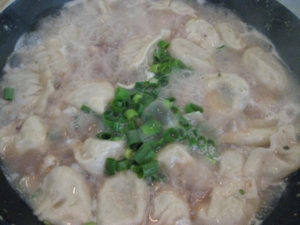 西葫芦鸡蛋汤水饺的制作方法