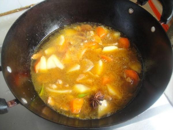 猪肉炖土豆胡萝卜怎么炒