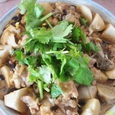 豆豉芋头蒸排骨