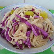 大花莲怎么做好吃泡椒金针菇拌紫甘蓝的做法