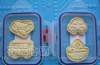 造型小饼干的做法
