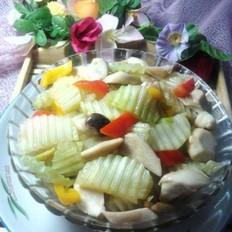 蚝油莴苣杏鲍菇