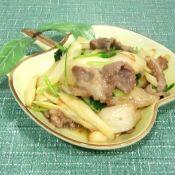 水笋炒五花肉