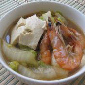 大白菜炖大虾