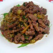 野山椒熗牛肉