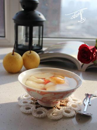 荸荠甜梨汤的做法