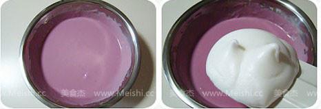 紫薯轻乳酪蛋糕的做法大全