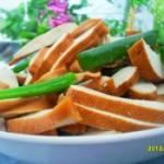 凉拌五香豆腐干