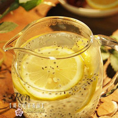柠檬兰香子饮