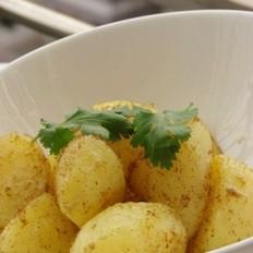 孜然粉烤小土豆