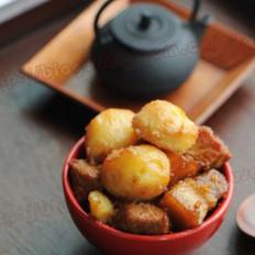 蜜汁土豆炖肉