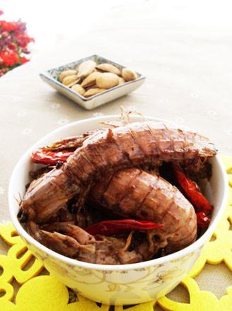 豉椒皮皮虾的做法