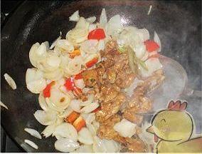肉片炒百合怎么煮