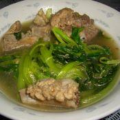 排骨小白菜汤