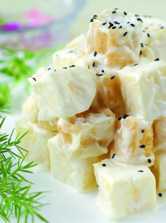 菠蘿油條蝦的做法