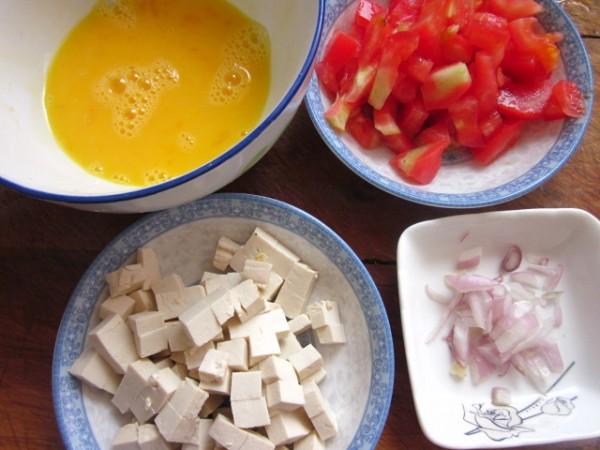鸡蛋豆腐打卤面的做法大全