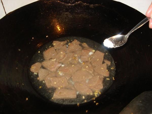 猪血汤怎么炒