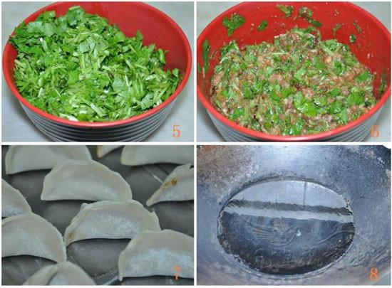 香菜水饺的做法图解