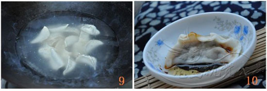 香菜水饺的家常做法