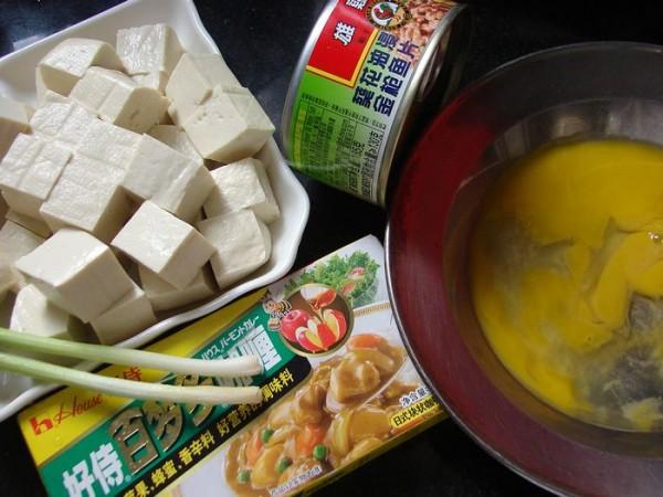 金枪鱼咖喱豆腐的做法大全