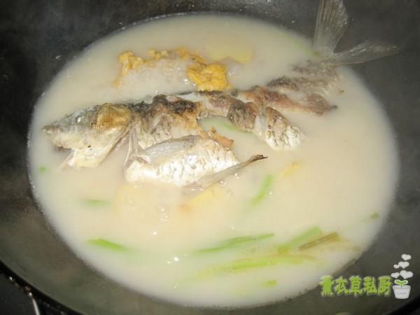 鲫鱼炖豆腐怎么炖