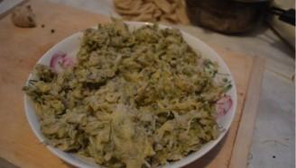 蒸槐花菜的做法