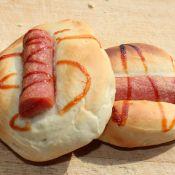 番茄酱火腿面包
