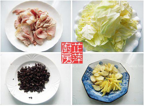 干锅手撕包菜的做法图解