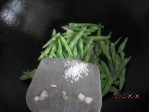 豆腐干炒四季豆的简单做法