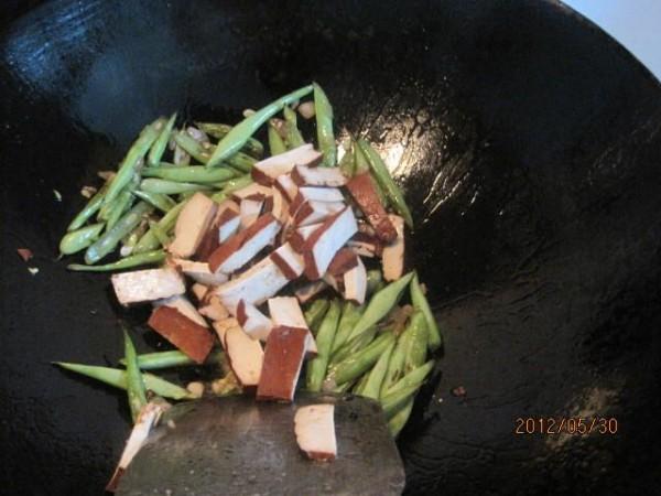 豆腐干炒四季豆怎么吃