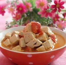 番茄烩豆腐