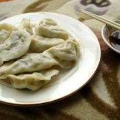 虾仁猪肉白菜水饺