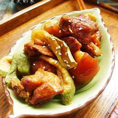 萝卜干炖肉