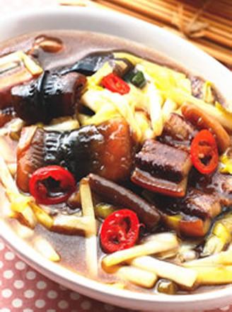 韭黃燴黃鱔的做法