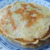 鸡蛋瓠子肉糜面饼