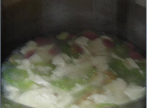 青椒豆腐羹怎么做