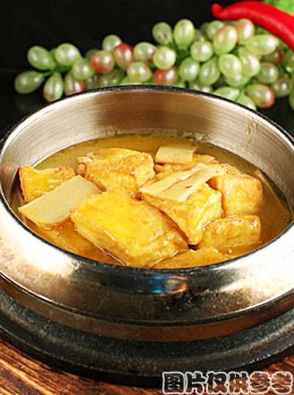 冬菇笋炖老豆腐的做法