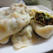 香菇油菜猪肉水饺