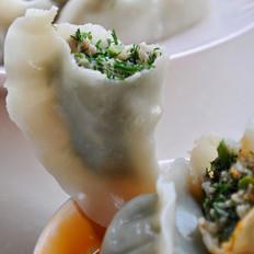 茴香鲜肉饺子