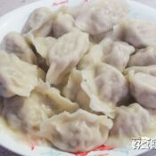 平菇猪肉馅饺子