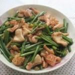凉拌土豆丝怎么做的脆鱿鱼爆韭菜花的做法