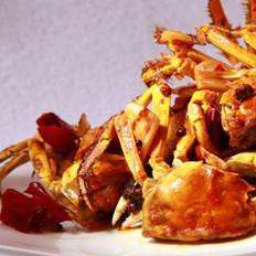 蒜香炒梭蟹