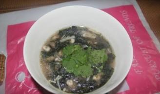 紫菜海蛎面的做法