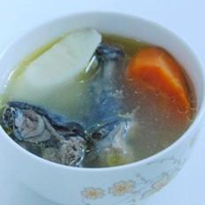 鲜淮山煲竹丝鸡