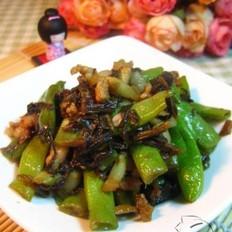 梅干菜燒四季豆