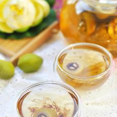 檀香橄榄麦冬绿茶