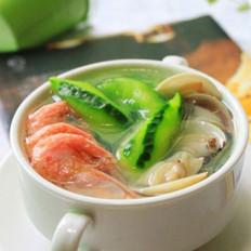 丝瓜小海鲜汤
