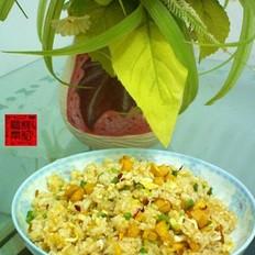 南瓜蛋炒饭