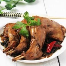 炒肉丝怎么做梅菜卤兔的做法